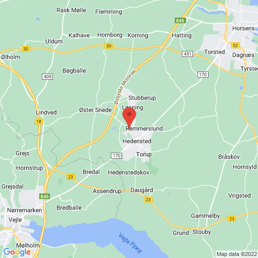 Middelfart Sparekasse Indoor Cup 2020 map