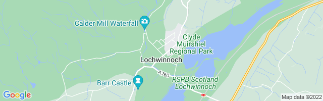 Map Of Lochwinnoch