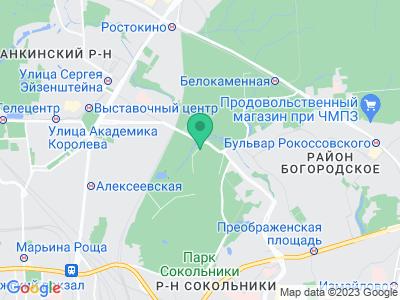 """Карта Кемпинг """"Сокольники"""""""