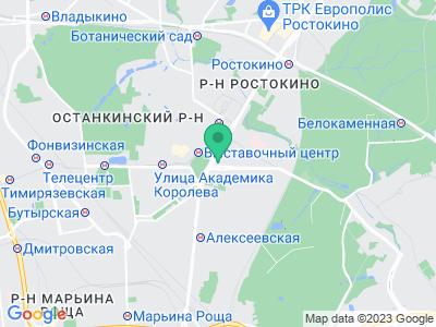 Схема проезда Яхты на колесах (Москва)