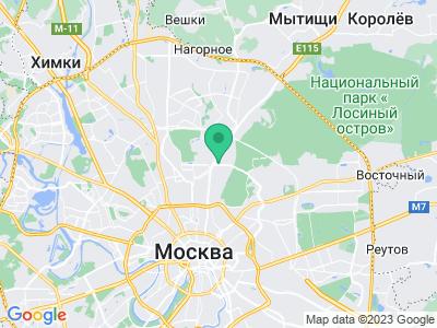 Схема проезда Buerstner Россия (Москва)