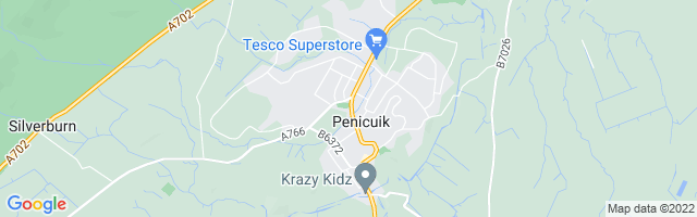 Map Of Penicuik
