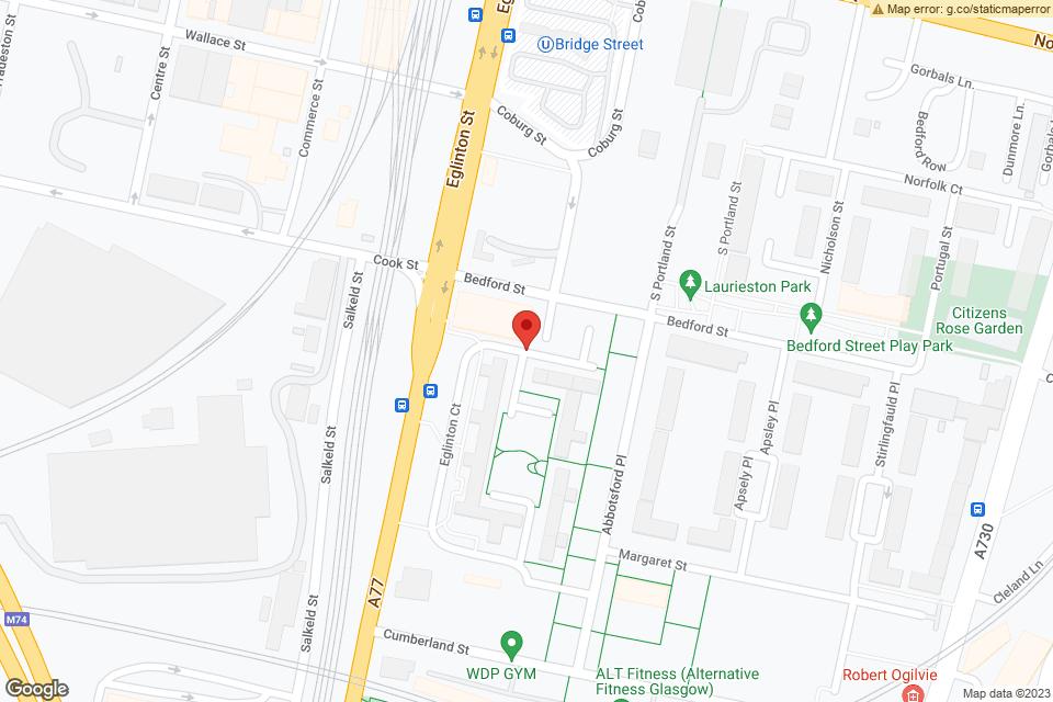 121 Eglinton St, Glasgow, G5 9NT map