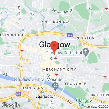 Map of Kids Foot Locker Glasgow, Scotland at SC Buchanan Galleries, unit 9, 200 Buchanan Street, Glasgow, Scotland,  G1 2GF