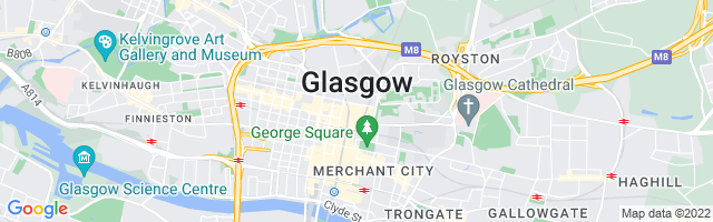 Map Of Glasgow