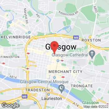 Map of Burger King at 59 Sauchiehall St, Glasgow,  G2 3AT