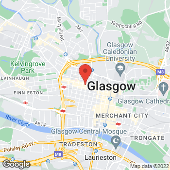 Map of Taco Bell at 245 Sauchiehall St, Glasgow,  G23EZ