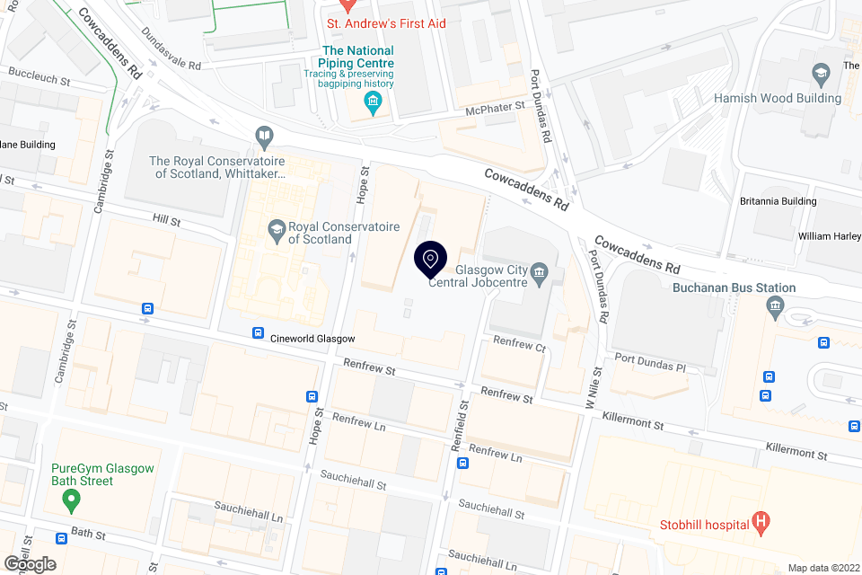 121 Renfield St, Glasgow, G2 3AX map