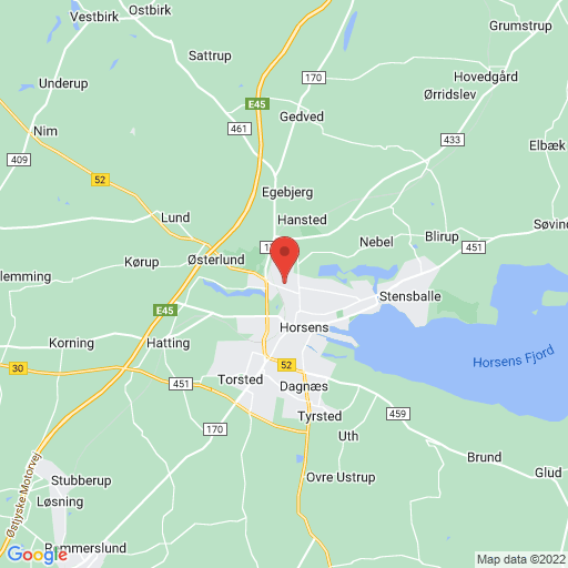 SPORT 24 Horsens Indoor 2019 map