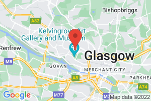 University of Glasgow Library on the map