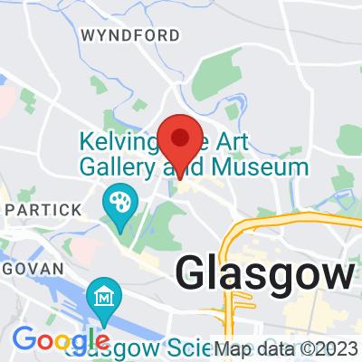 Map showing Kelvin Pocket