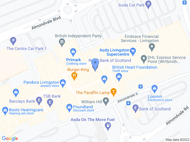 find us on the map