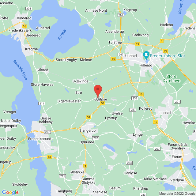 Gørløse SI map