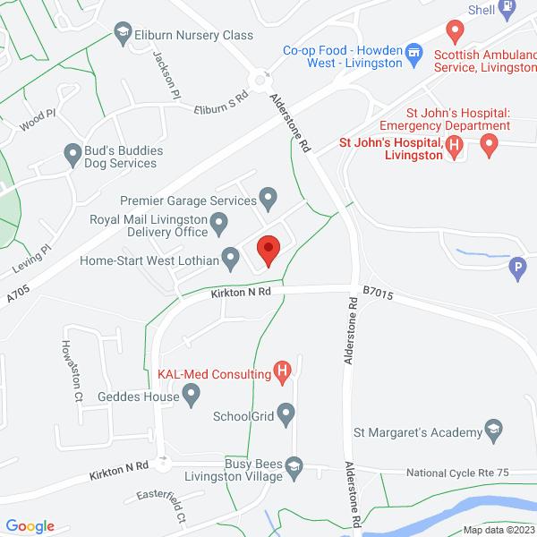 Livingston Office map