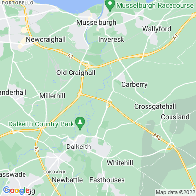 Dalkeith House Location