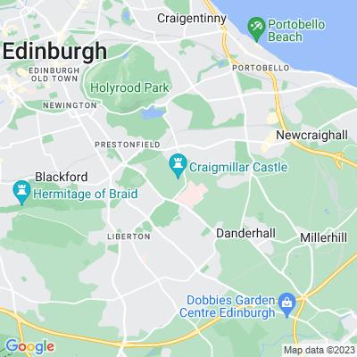 Craigmillar Castle Location