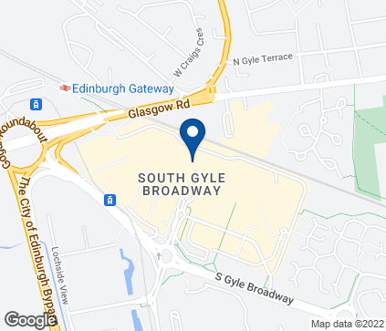 Map of The Gyle Centre in Edinburgh