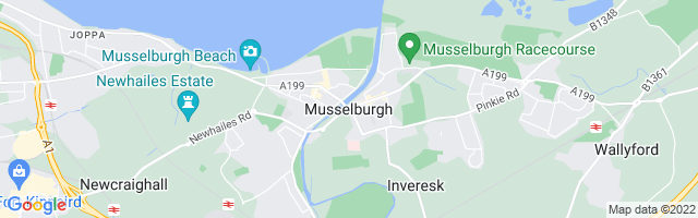 Map Of Musselburgh