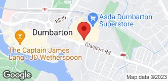 Halfords Dumbarton location
