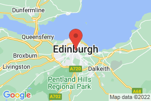 Map of Edinburgh and Lothian Are