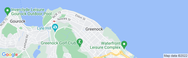 Map Of Greenock