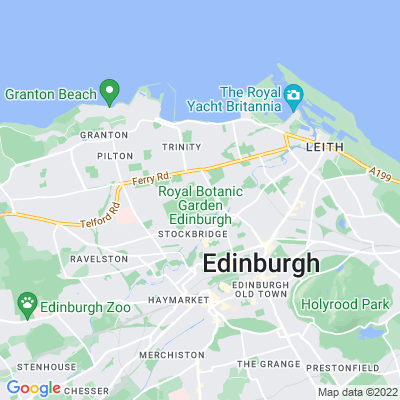 Royal Botanic Garden, Edinburgh Location