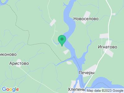 """Карта Кемпинг """"Кузнечиха"""""""