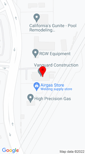 Google Map of RGW Equipment Sales 550 Greenville Road, Livermore, CA, 94550