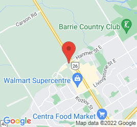 Google Map of 550+Bayfield+Street%2CBarrie%2COntario+L4M+5A2