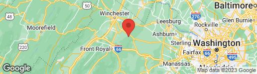 Map of 550 GORHAM LANE BOYCE, VA 22620