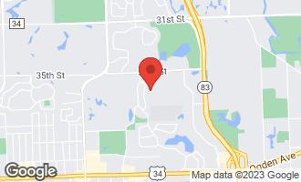 Map of 550 Oakmont Lane WESTMONT, IL 60559