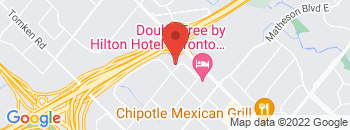 Google Map of 5500+Dixie+Road+Unit+D%2CMississauga%2COntario+L4W+4N3