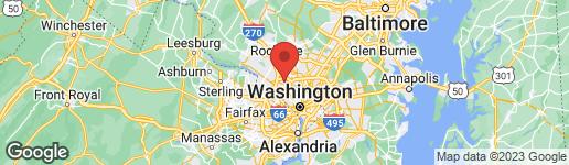 Map of 5503 OAK PLACE BETHESDA, MD 20817