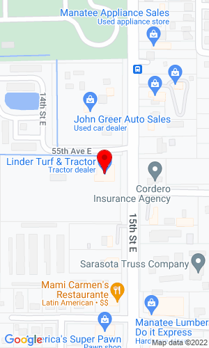 Google Map of Franz Tractor Company 5504 15th Street E, Bradenton, FL, 34203