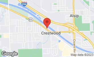 Map of 5504 West Cal Sag Road ALSIP, IL 60803
