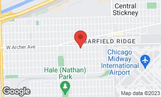 Map of 5528 South Mcvicker Avenue CHICAGO, IL 60638