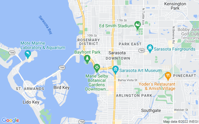 555 N Orange Ave #211 Sarasota Florida 34236 locatior map