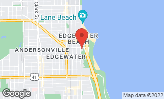 Map of 5555 North Sheridan Road #224 CHICAGO, IL 60640