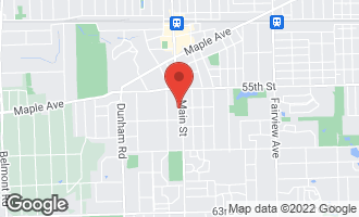 Map of 5560 Main Street DOWNERS GROVE, IL 60516