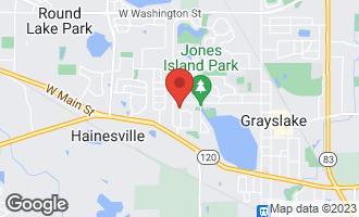 Map of 557 Kelly Avenue GRAYSLAKE, IL 60030