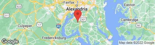 Map of 5570 LAURIE PLACE POMFRET, MD 20675
