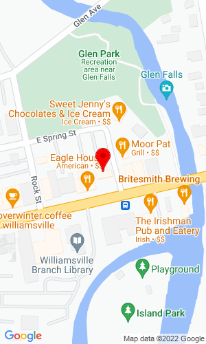 Google Map of Blackbird Asset Services, LLC 5586 Main Street, Suite 204, Williamsville, NY, 14221