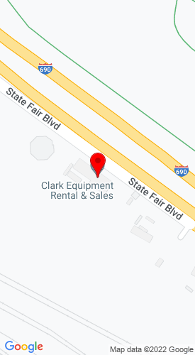 Google Map of Clark Equipment Rental & Sales 559 State Fair Blvd , Syracuse, NY, 13204