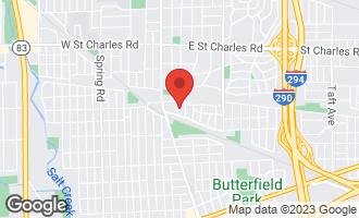 Map of 559 South Kenilworth Avenue ELMHURST, IL 60126