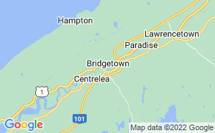 Map of Annapolis River Campground