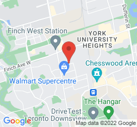 Google Map of 56+Toro+Road%2CNorth+York%2COntario+M3J+2A8