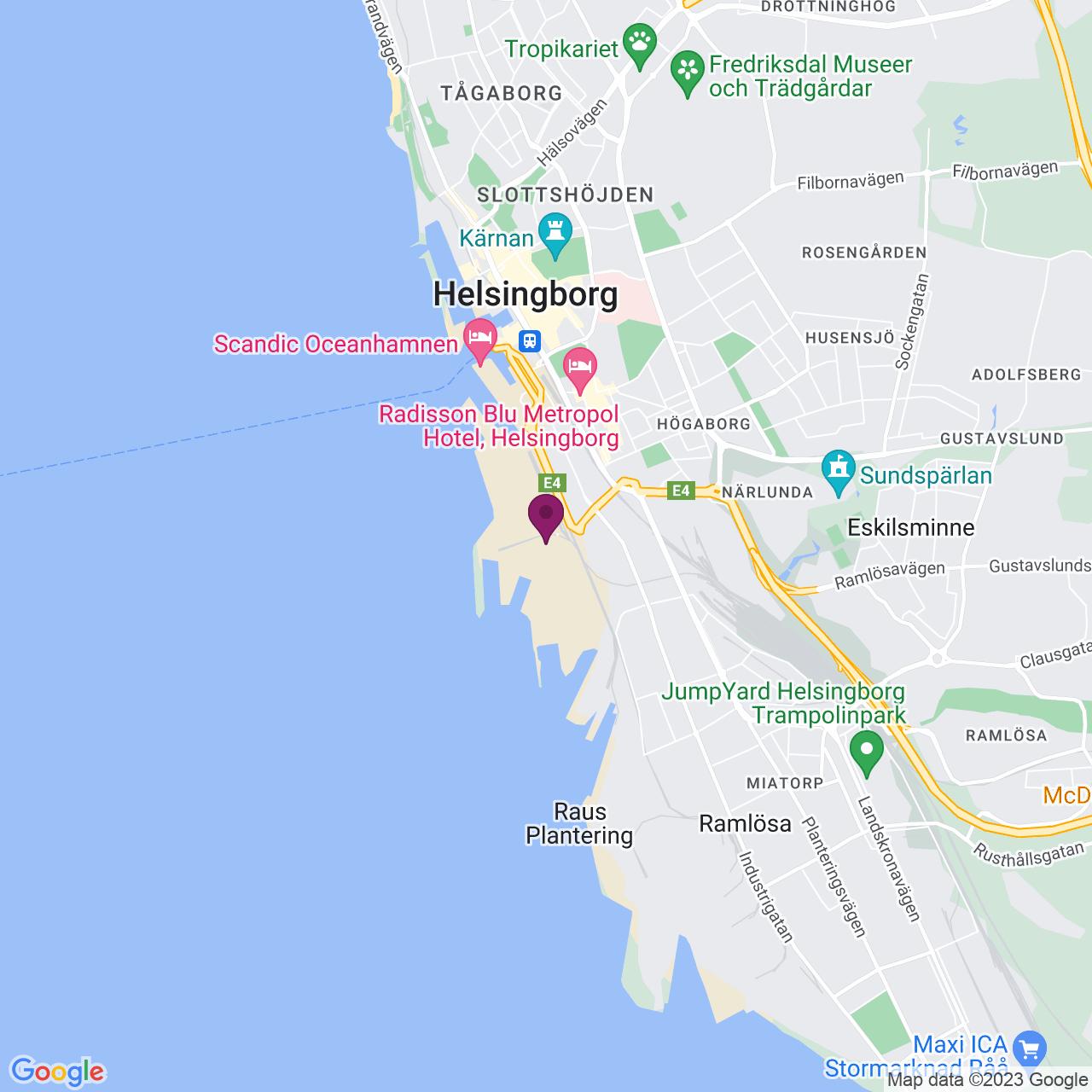 Karta över Henckels Torg 4