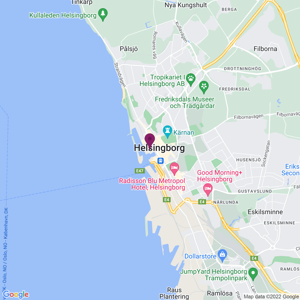 Karta över Kungsgatan 2