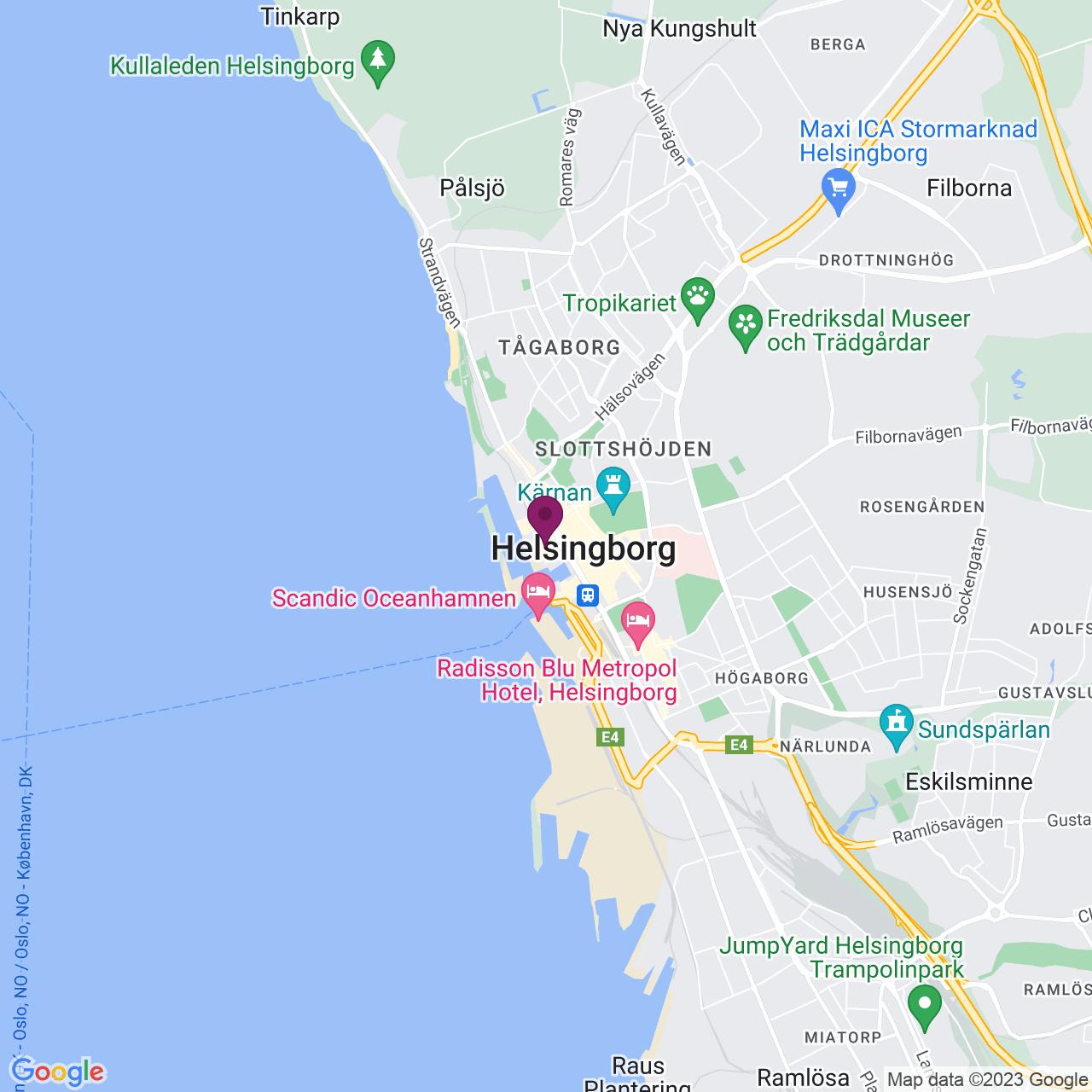 Karta över Kungsgatan 6