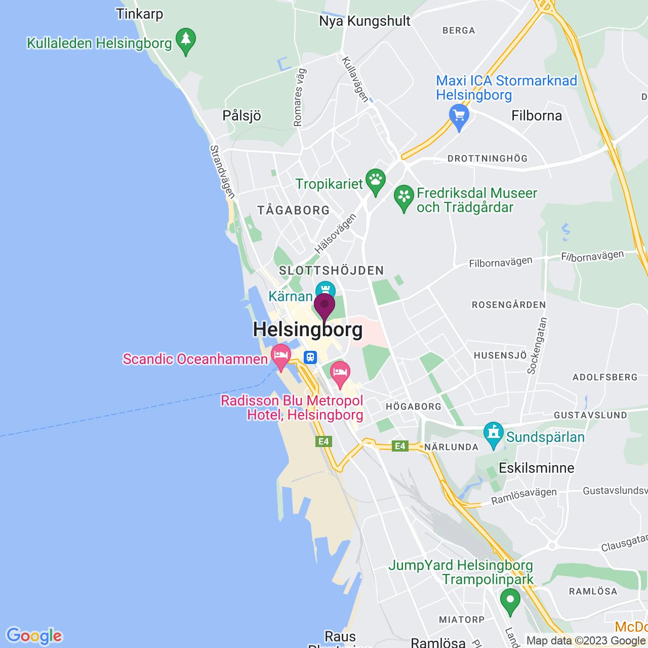 Karta över Billeplatsen 5